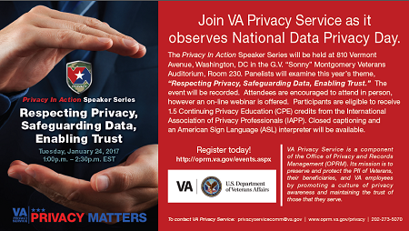 Respecting Privacy, Safeguarding Data, Enabling Trust.